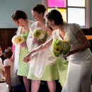 Kingston wedding photos at Calvary United Church.